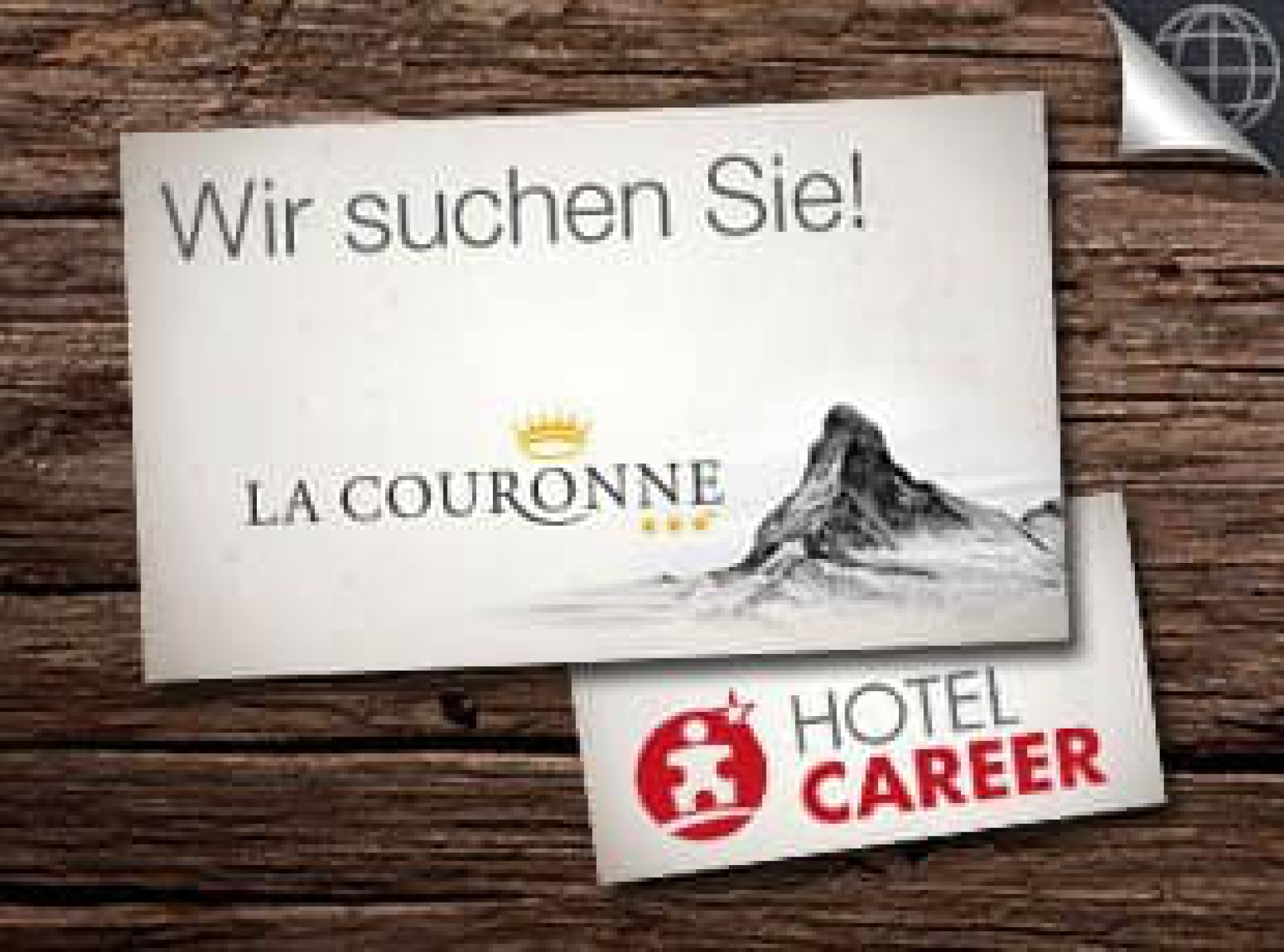 Hotel Couronne Zermatt, Jobs