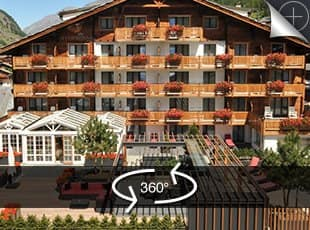 Hotel Couronne Zermatt, 360° Virtual Tour